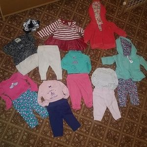 Newborn Girl winter lot